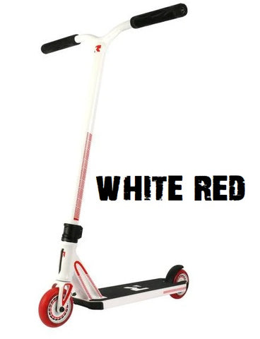 invictus complete pro scooter root industries white red