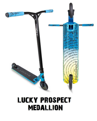 lucky pro scooters prospect medallion 2021