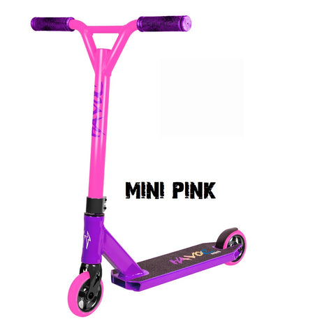 mini complete pro scooter havoc mini pink