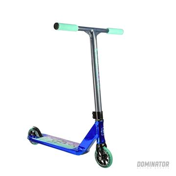 mini pro scooter dominator scooters team minis navy chrome