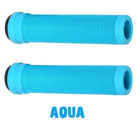 odi scooter grips softies flangeless aqua