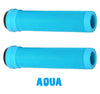 odi scooter grips softies aqua