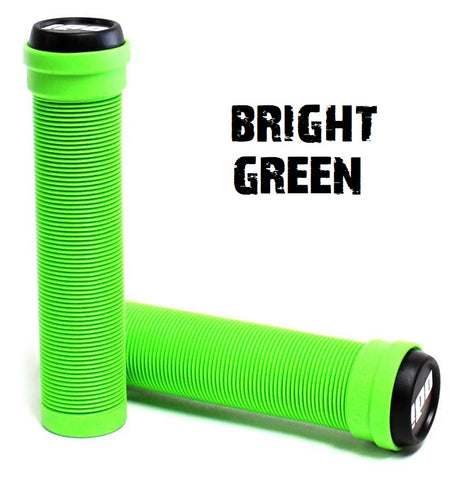 odi softies scooter grips flangeless bright green