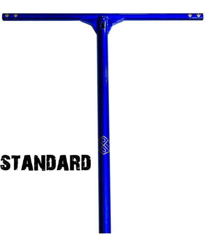 standard sized pro scooter bars envy soul bar chomoly blue