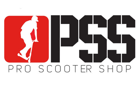 pro scooter shop banner white background