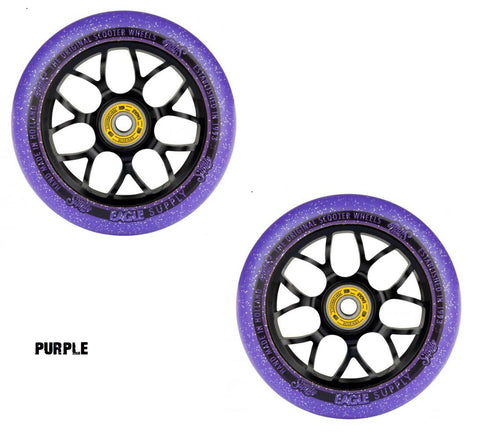 eagle supply pro scooter wheels x6 candy purple