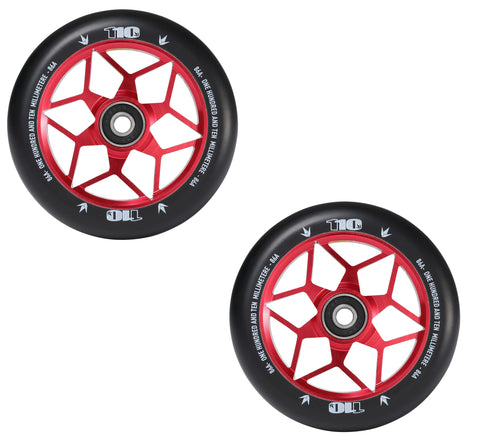 pro scooter wheels envy diamond 110mm red