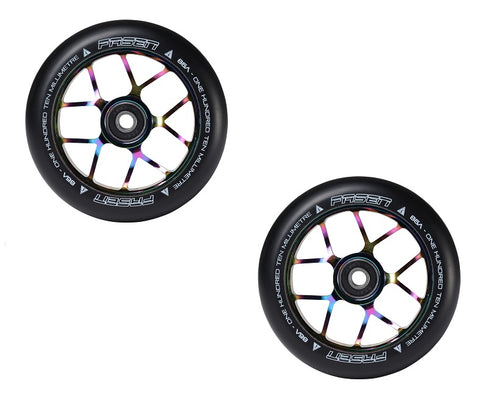 pro scooter wheels fasen 120mm oil slick
