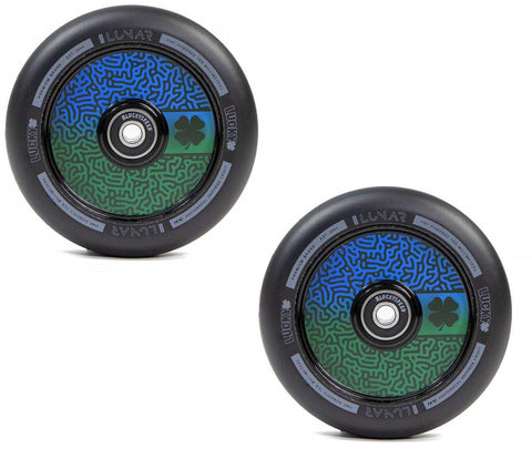 pro scooter wheels lucky lunar maze wheel 110mm