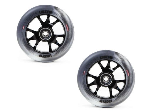 pro scooter wheels lucky toaster wheels 100mm swirl