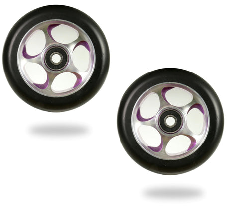 scooter wheels 100mm root industries re-entry purple