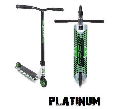 lucky crew pro scooter 2021 platinum polished