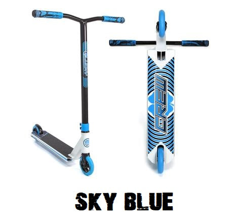 lucky crew pro scooter 2021 sky blue white