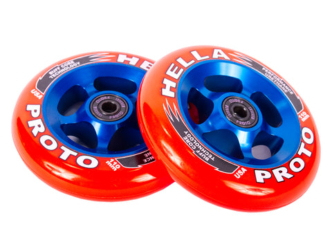 proto hella collab scooter wheels 110mm