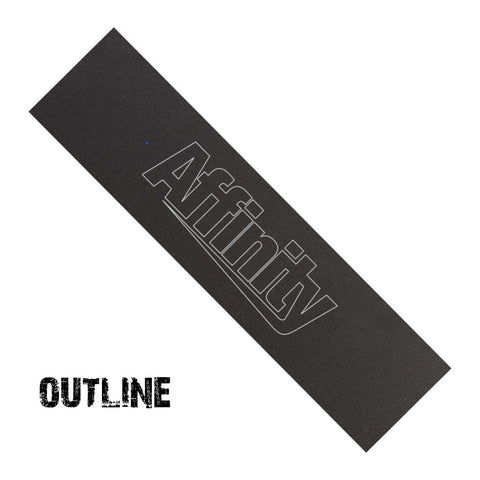 Affinity Scooters scooter grip tape - outline