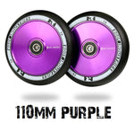 Root Industries AIR pro scooter wheels 110mm - purple