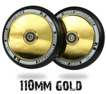Root Industries AIR pro scooter wheels 110mm - gold