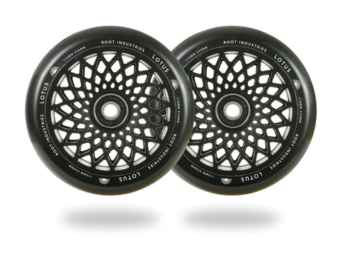 Root Industries Lotus pro scooter wheels black 110mm