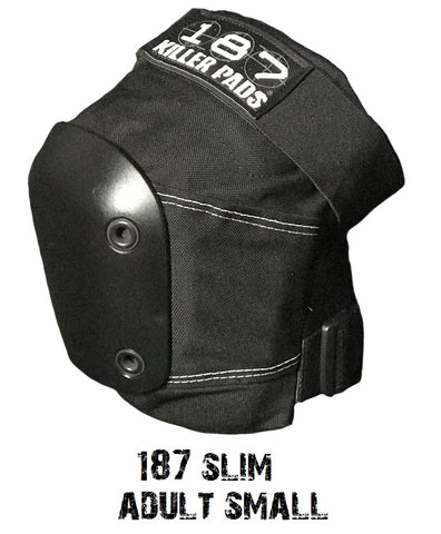 Scooter knee pads 187 Killer slim pad - adult small