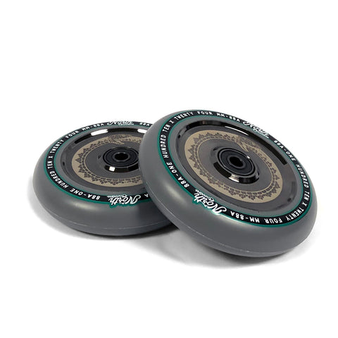 scooter wheels north scooters vacant 110mm black