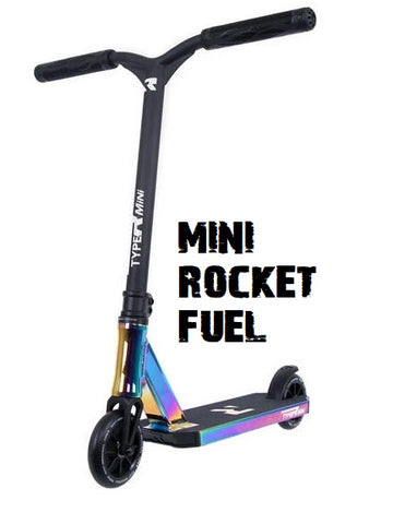 mini type r complete pro scooter rocket fuel mini