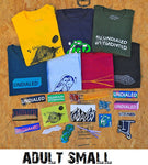 undialed scooters tshirt sticker pack adult small