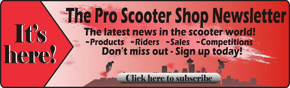 pro scooter shop newsletter