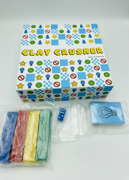 Clay Crusher - The Board Game with Clay