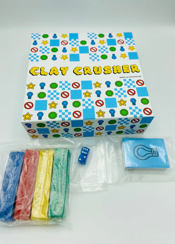 Deluxe Clay Crusher with Extra Clay & Electronic Timer