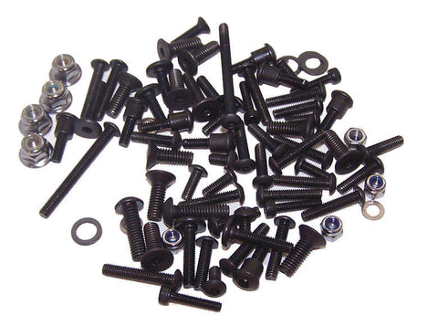 Traxxas 58034-1 Slash 2wd XL-5 SCT Brushless Black Oxide Hex Screw/Hardware Lot