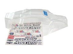 Associated 80936 RC8B3.1e 1/8 E-Buggy Clear Lexan Body & Decal Sheet