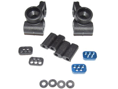 Associated 70002 T6.1 Stadium Truck Rear Suspension Upright Hub Carriers Inserts