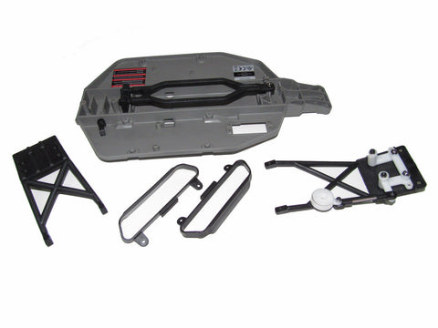 Traxxas 58034-1 Slash 2wd XL-5 SCT Chassis Tub Swingrack Skid Plates Nerf Bars