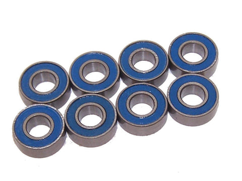 Traxxas 58034-1 Slash 2wd XL-5 SCT Brushless Blue Rubber Sealed Bearings