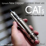 Authentic CATS RDA Rebuildable Atomizer by RJMod