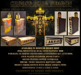Authentic Armas v2 Black Delrin BB Box Mod by Ninoy Aquino (Parallel or Series)