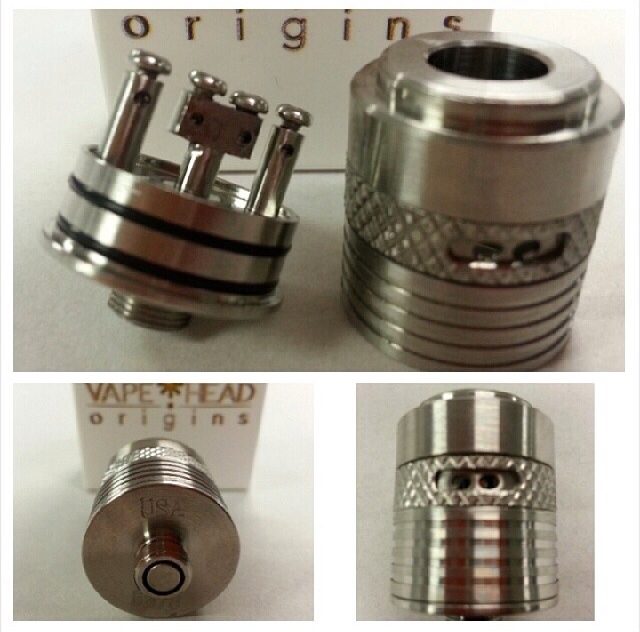 Authentic Helios atomizer by Vape Head Orgins