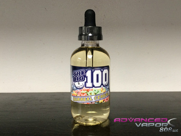 The Big 100 Surreal Cereal flavor ejuice collection 100ml glass bottle vape