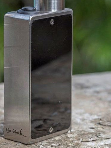"""The Block"" Fully Mechanical Box Mod by Cosmic Innovations"