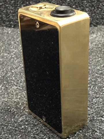 """The Block"" Limited Edition Brass Fully Mechanical Box Mod by Cosmic Innovations"