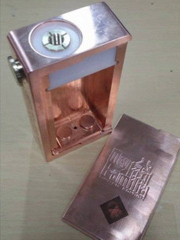 Authentic Cherry Bomber COPPER Fully Mechanical Box Mod by MCV