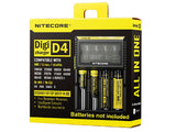 Nitecore Digicharger D4 4-Channel Smart Battery Charger