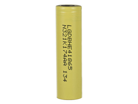 LG HE4 35A 2500MAH 18650 FLAT TOP BATTERY