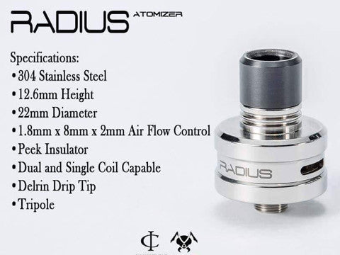 Authentic Radius RDA by Cosmic Innovations and Vicious Ant