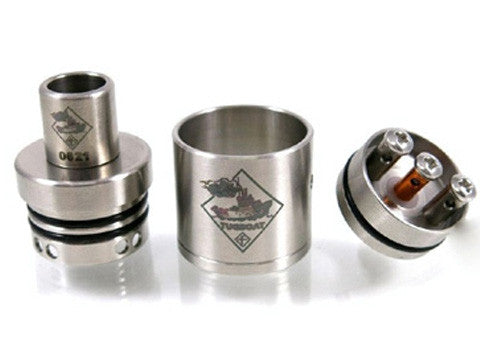 Authentic Brushed Tugboat V2 RDA by Flawless