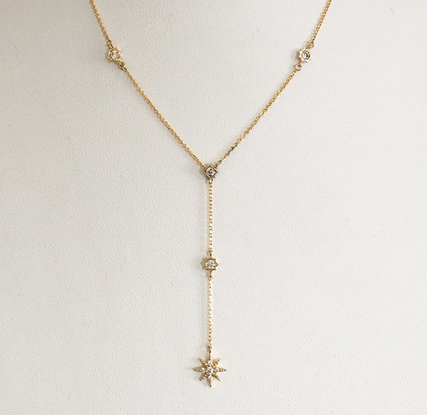 [WS] New Star Y Necklace