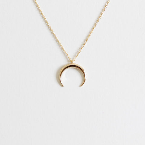 Crescent Moon Necklace - new