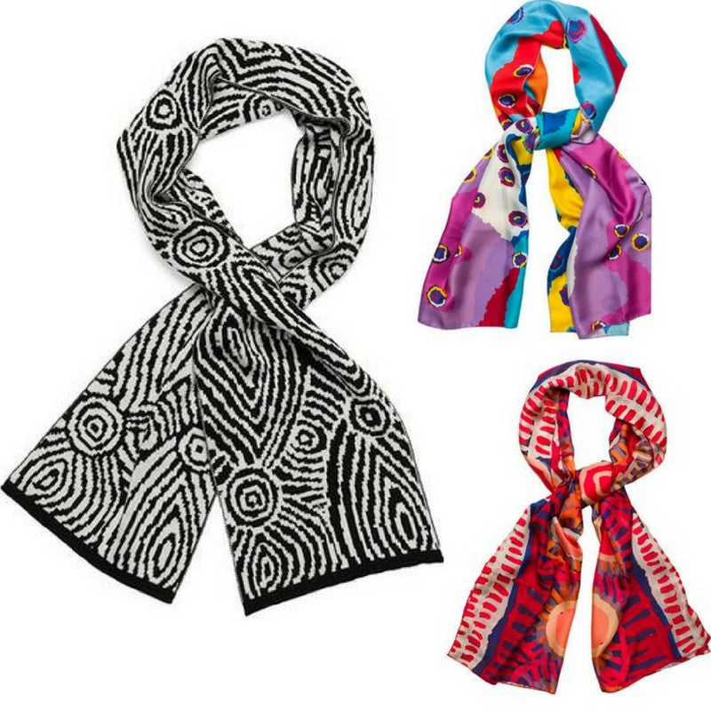 Aboriginal Design Scarves