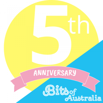 5 numbers about Bits of Australia for our 5th year anniversary