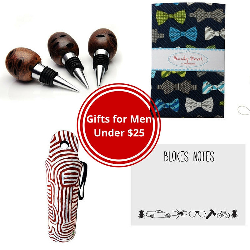 Christmas gifts for him - under $25